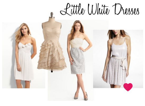 sweet life a la carte wedding event little white dress