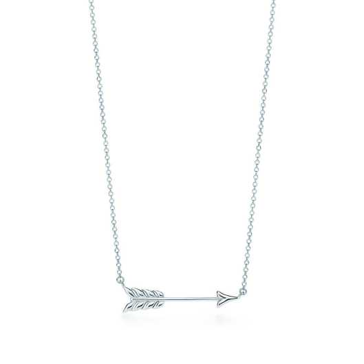 Tiffany Ziegfeld collection arrow necklace valentine's day gift ideas