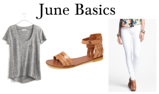 june basics five piece french wardrobe