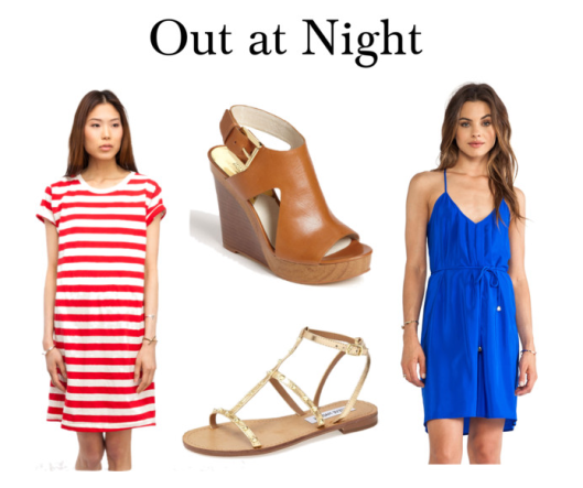 red white blue dress shoes evening casual